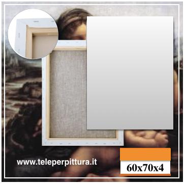 Tele Per Pittura Palermo 60x70 spessore 4cm