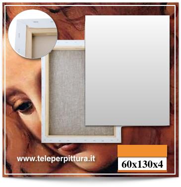 Tele Per Pittura Sardegna 60x130 spessore 4cm