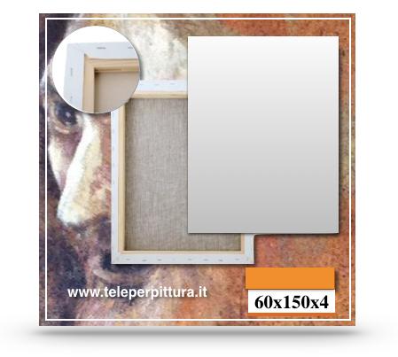 Tele Per Pittura Sicilia 60x150 spessore 4cm
