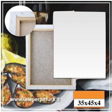 Tele Per Pittura Taranto 35x35 spessore 4cm
