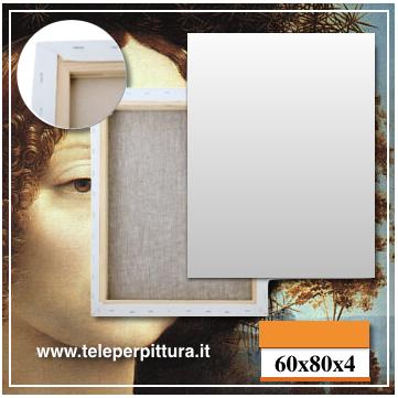 Tele Per Pittura Toscana 60x80 spessore 4cm