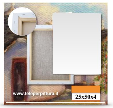 Tele Per Pitture Lecce 25x50 spessore 4cm