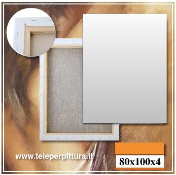 Tele Per Quadri Lecce 80x100 spessore 4cm