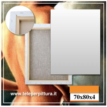 Tele Per Quadri Veneto 70x80 spessore 4cm