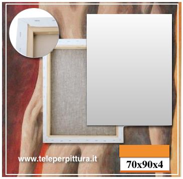 Tele Per Quadri Verona 70x90 spessore 4cm