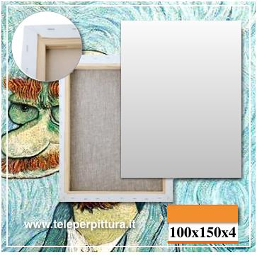 Tele per pittura economiche 100x150 spessore 4 cm