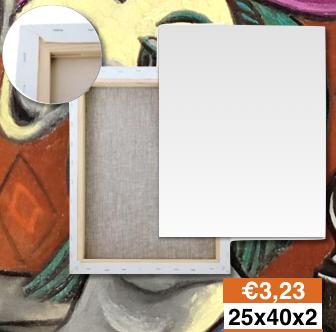 Tele Bianche Per Quadri Lecce 25x40