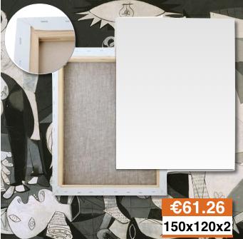 Tele e Telai Per Quadri Su Misura 150x120 x 2