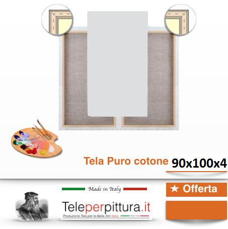Offerte Tele Per Quadri Bianche Puro Cotone 100% Prezzi