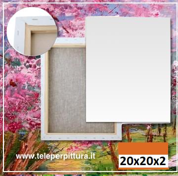 Online Tele Per Pittura 20X20 Spessore 2cm