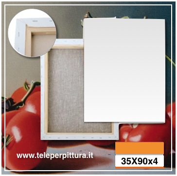 Tele con Telaio 35X90 canvas online