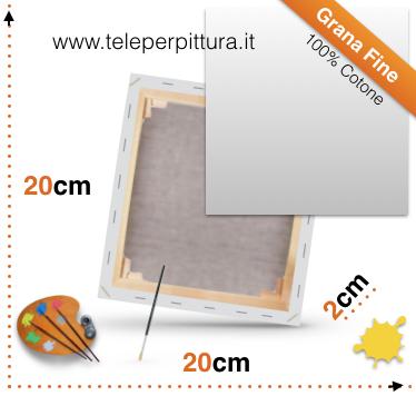 Tele per pittori 20x20 online