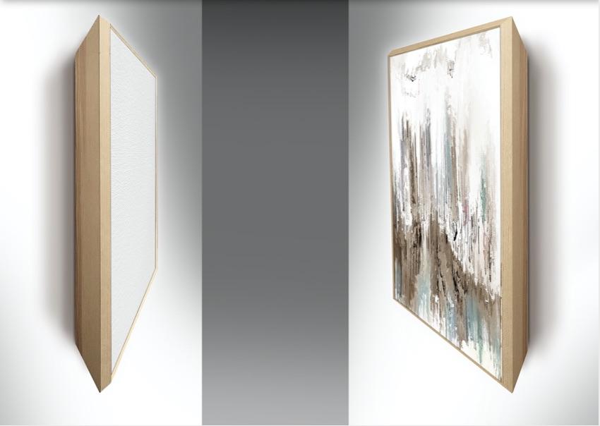Tele Tridi con telaio a Cornice 70 x 100