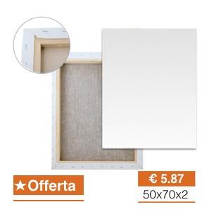 Offerta Tele per pittura -40% Prezzi imbattibili