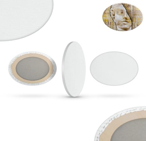 Tele ovali varie misure